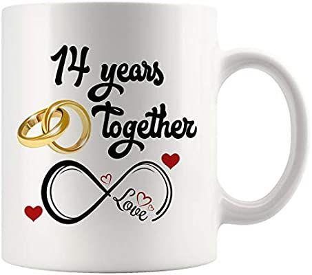 Amazon Com 14th Wedding Anniversary Gift For Him And Her 14th Anniversary Gifts For Her Him 14th Wedding Anniversary 14th Anniversary Gifts 14th Anniversary