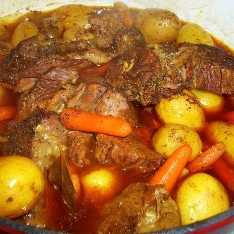 Cassies Stove Top Pot Roast Recipe Pot Roast Recipes Pot Roast Beef Dishes