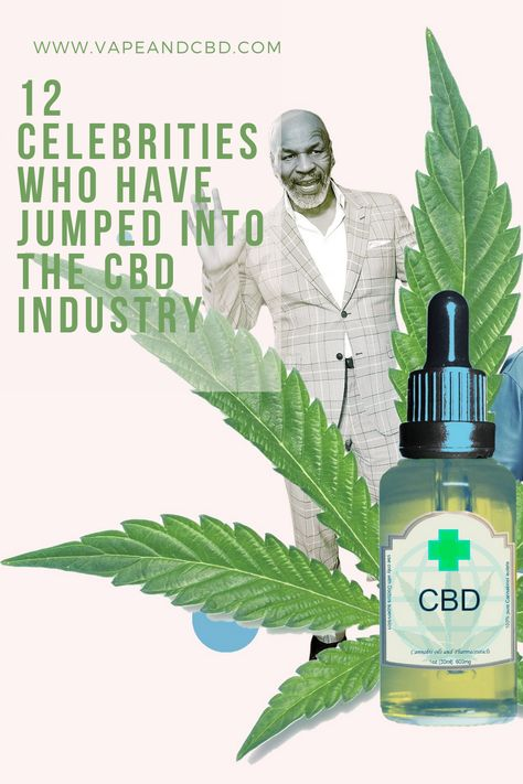 When it comes to the CBD craze, many celebrities aren't just using the products, but they're putting their money where their interest is, becoming investors, spokespeople and advocates for an industry that's ripe for the taking. Many of us may not be able to do that, but celebs can be a different breed when it comes to these types of opportunities. #vapeandcbd #rejuvination #healthcare #qualityproducts #naturalhealing #naturalmedicine #healthierlifestyle #celebrity #celebrities