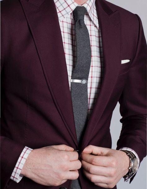 Newest Burgundy Groom Tuxedos Italian Style Man Suit 2 Piece Wedding Prom Dinner Suits For Men Best man Groomsman Wear terno