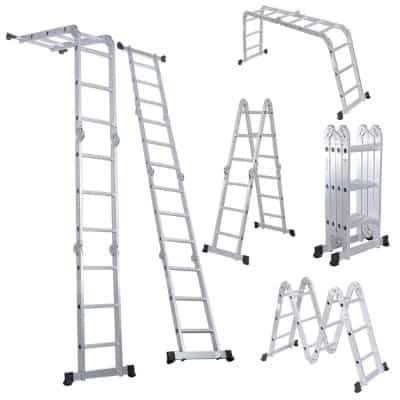 The 11 Best Multi Position Ladders In 2020 Reviews Aluminium Ladder Scaffold Ladder Best Ladder