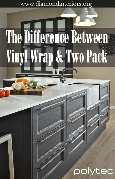 What Is The Difference Between Vinyl Wrap And Two Pack Diamond Interiors Vinyl Wrap Kitchen Kitchen Designs Layout Vinyl Wrap