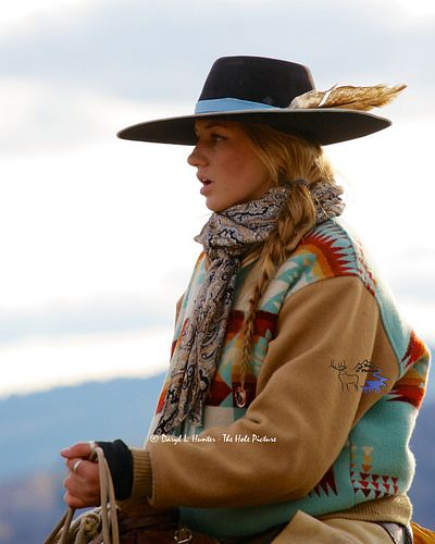 Working Cowgirl Cydnie Clark in Star Valley Wyoming Cowgirl Chic, Cowgirl Mode, Estilo Cowgirl, Cowgirl Hats, Gypsy Cowgirl, Cowgirl Outfits, Cowgirl Style, Western Outfits, Western Wear