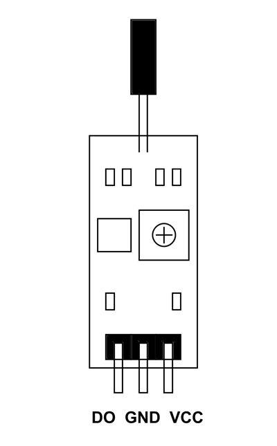 Sw 520d Tilt Sensor Pinout Electronics Projects Sensor Arduino