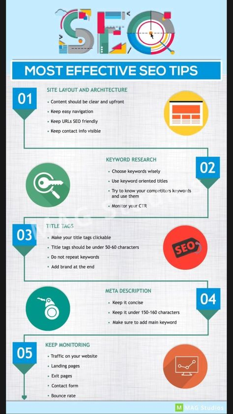 Most effective SEO tips 📢