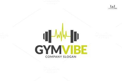 Gym Vibe Logo Gym Logo Fitness Logo Fitness Logo Design