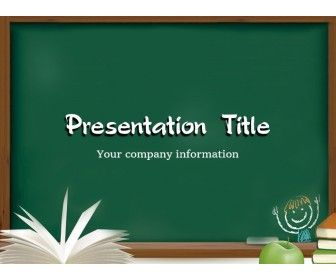 Free Back To School Powerpoint Template With An Opened Book And Apple N School Powerpoint Templates Free Powerpoint Templates Download Powerpoint Template Free