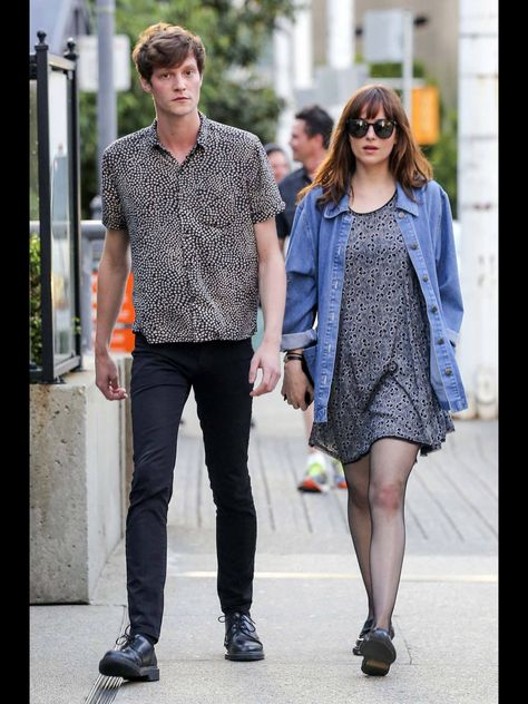 Dakota and Matt out walking in Vancouver
