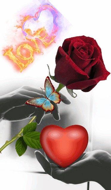 Maria Y Yo Rosas Corazones Rosados Anillo De Matrimonio