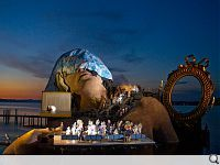 Bregenz Festival. Austrian festival builds unusual and larger than life stages.