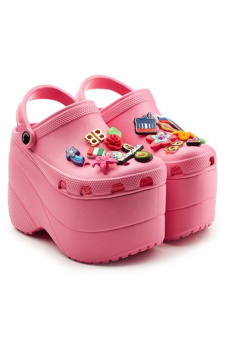 Platform Crocs #Shoes #BALENCIAGA