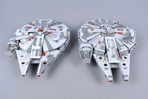 Lego Star Wars 75257 Millennium Falcon Review Lego Star Wars Lego Star Wars Sets Star Wars Set