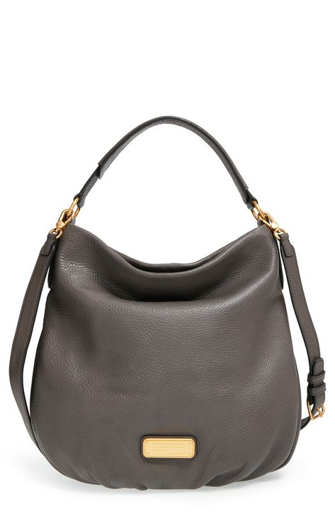 This slouchy hobo bag is definitely an essential with its adjustable strap and roomy interior.