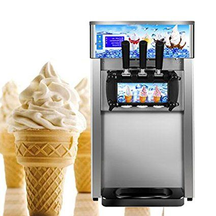 Soft Ice Cream Machine Vinmax Commercial Small Desktop Soft Ice