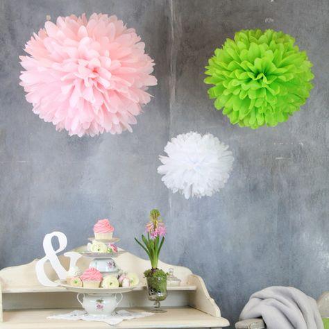 Pom Pom Manufaktur cherry blossom ~ pompom-set 3lpompom-manufaktur via dawanda