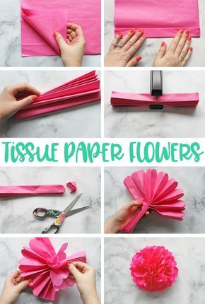 Tissue Paper Flowers The Ultimate Guide With Images Tissue