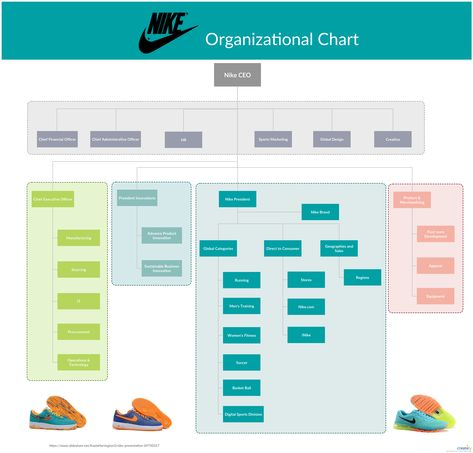Nike Organizational Structure