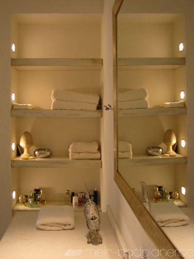 Galerie Bäder, Spa 2 Tadelakt an Waschtisch und Waschbecken - badezimmer mit schräge