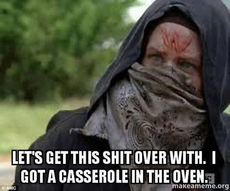 """The Walking Dead Season 6 Episode 2 """"JSS"""" Carol. New Characters Walking dead Sara & Angelica Kill's people who ? were's or had a"""" W on there forehead. They should put in Teen College Boy's & Girls"""