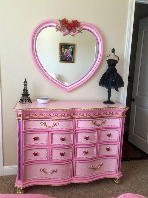 Disney Princess Furniture Redo Furniture Collection Painted