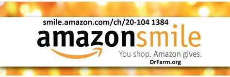 You Shop Amazon Gives Drfarm Org Company Logo Tech Company