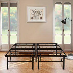 Home Under Bed Storage Metal Platform Bed King Platform Bed Frame