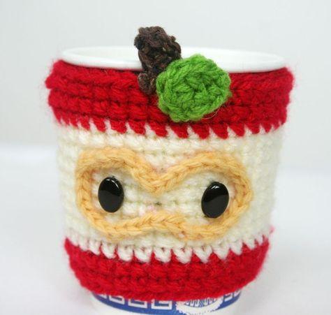 Apple Coffee Cup Cozy