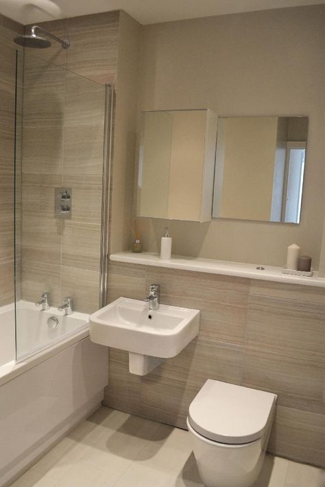 #VPShareYourStyle Daniel from London uses neutral colours to create a simple and modern styled bathroom.