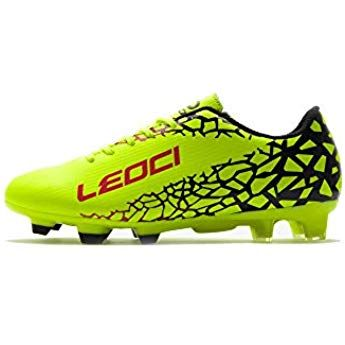 Athletic Football Shoes for Men and Boy Outdoor Soccer Shoes LEOCI Soccer Shoes
