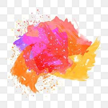 Hand Drawn Abstract Color Splash Vector Illustration Isometric New Png And Vector With Transparent Background For Free Download In 2020 How To Draw Hands Abstract Color Splash