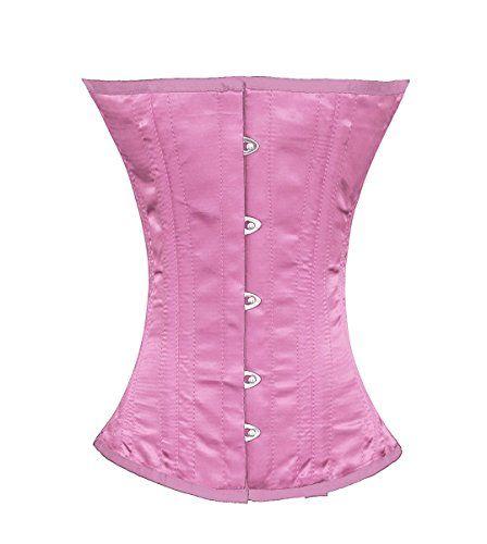 cbe4580c535 Satin corset with rhinestone