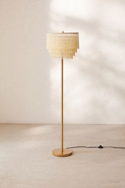 Best Boho Decor To Buy At Urban Outfitters Home Right Now Floor Lamp Bedroom Floor Lamp Makeover Tall Lamps Bedroom