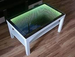 Build An Infinity Window Coffee Table Sawdust Addict With Images Infinity Mirror Infinity Mirror Table Window Coffee Table