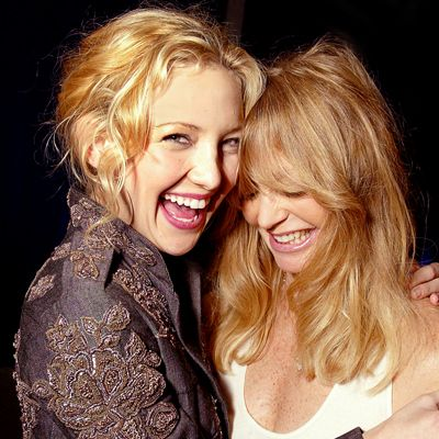 Kate Hudson and Goldie Hawn..