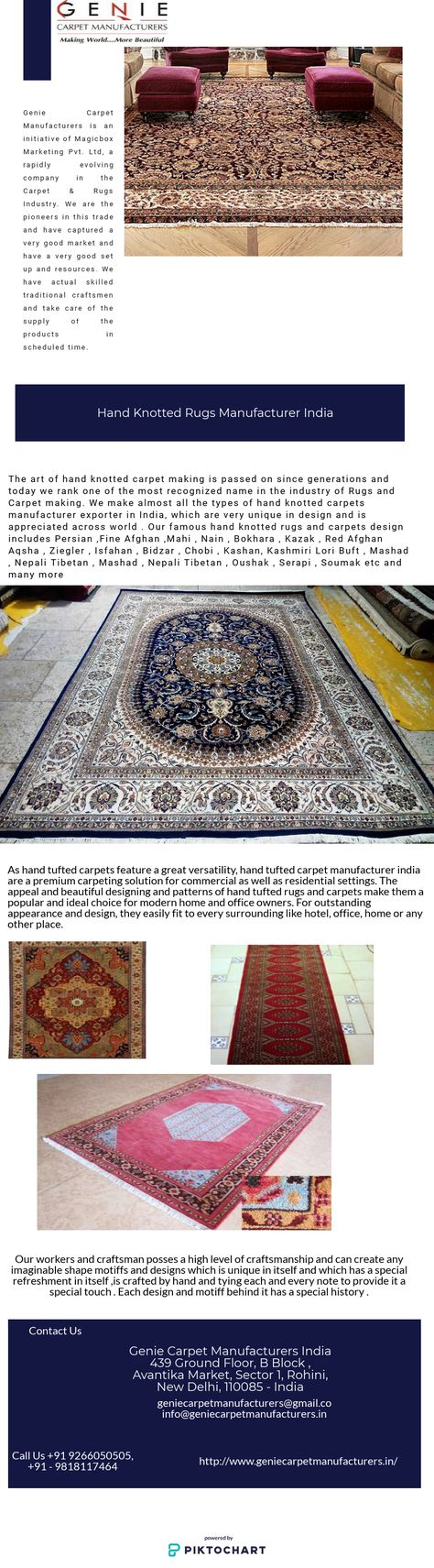Genie Carpet Manufacturers India Make Almost All Types Of Hand Knotted Rugs Manufacturer Carpet Exporter Which Are With Images Hand Knotted Rugs Rugs Carpet Manufacturers