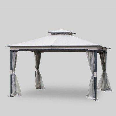 Westerly 10 X 12 Gazebo Gray Threshold Target Gazebo Patio Tents Westerly