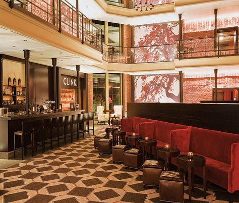 The Liberty Hotel This Sleek Y Has Gorgeous Interiors With A Trendy Warehouse Feel One Of Best Bars In Boston Stay He
