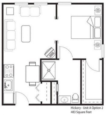 13++ 450 square feet 2 bedroom house plans ideas in 2021