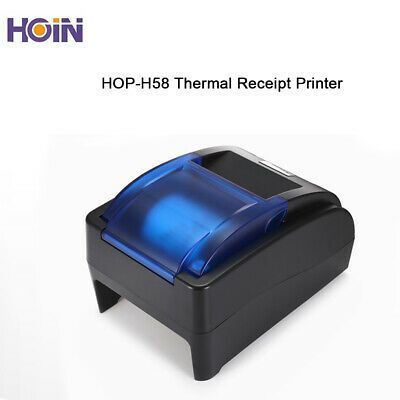 Ebay Ad Link Hoin 58mm Usb Thermal Line Printer Bill Esc Pos Printing Machine Support Windows In 2020 Usb Label Printer Printer
