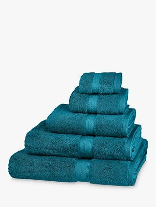 Towels Towel Bales John Lewis Partners In 2020 With Images Teal Towels Bath Towels Luxury Luxury Bath Mats