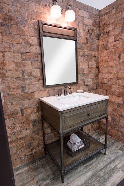 Bathroom Single Sink Vanity Industrial Philadelphia In Tops