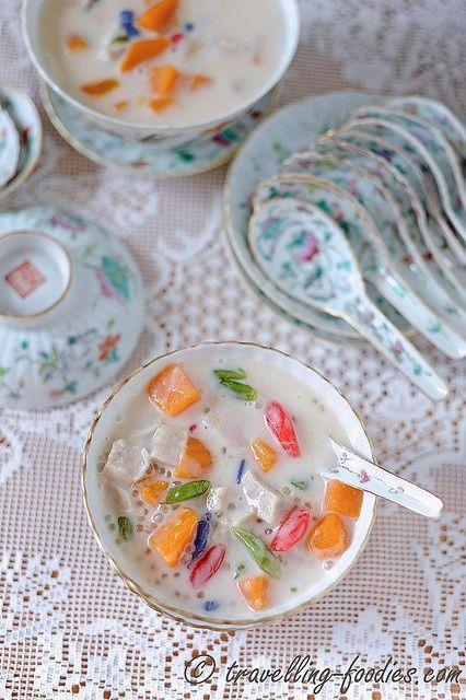 Bubur Cha Cha Durian Makanan Dan Minuman Resep Makanan