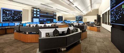 Control Room Furniture Property technical command and control room furniture, security consoles