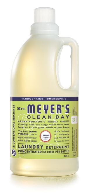 Mrs Meyer S Lemon Verbena Laundry Detergent 64 Fl Oz Lavender