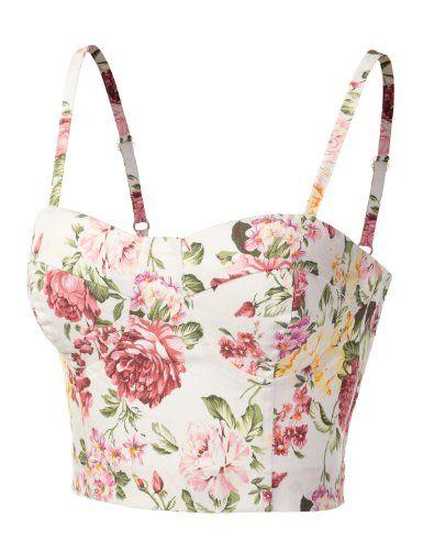9XIS Womens Fashionable And Feminine Floral Bustier Top 9XIS,http://www.amazon.com/dp/B00DH2Y68U/ref=cm_sw_r_pi_dp_LaY6rb15M684Y3B7