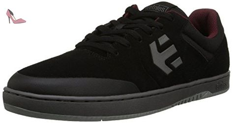 Scout Yb, Chaussures de Skateboard Homme, Noir (Black/Grey), 46 EU (11 UK)Etnies