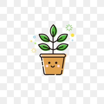 Mbe Icon Plant Cute Potted Leaves Mbe Plant Icon Png And Vector With Transparent Background For Free Download Plant Icon Plant Cartoon Plant Pot Decoration