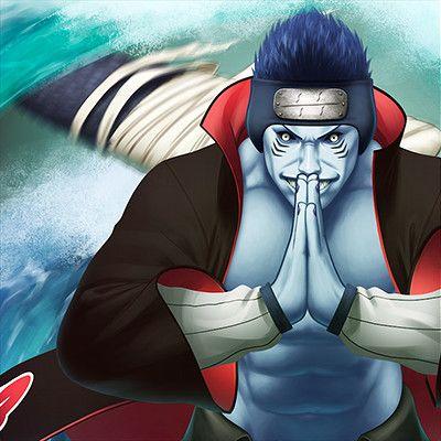 Kisame Hoshigaki Water Style Naruto Uzumaki Naruto Shippuden Sasuke Naruto