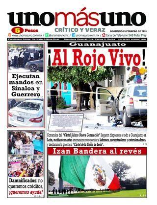 25 De Febrero 2018 Guanajuato Al Rojo Vivo Rojo Vivo Guanajuato Febrero
