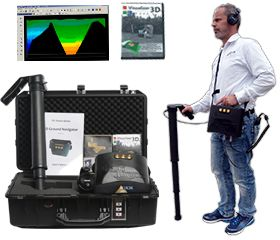اجهزة كشف المعادن ثلاثية الابعاد كاشفات الذهب التصويرية الالمانية 3d Metal Detector Metal Detector